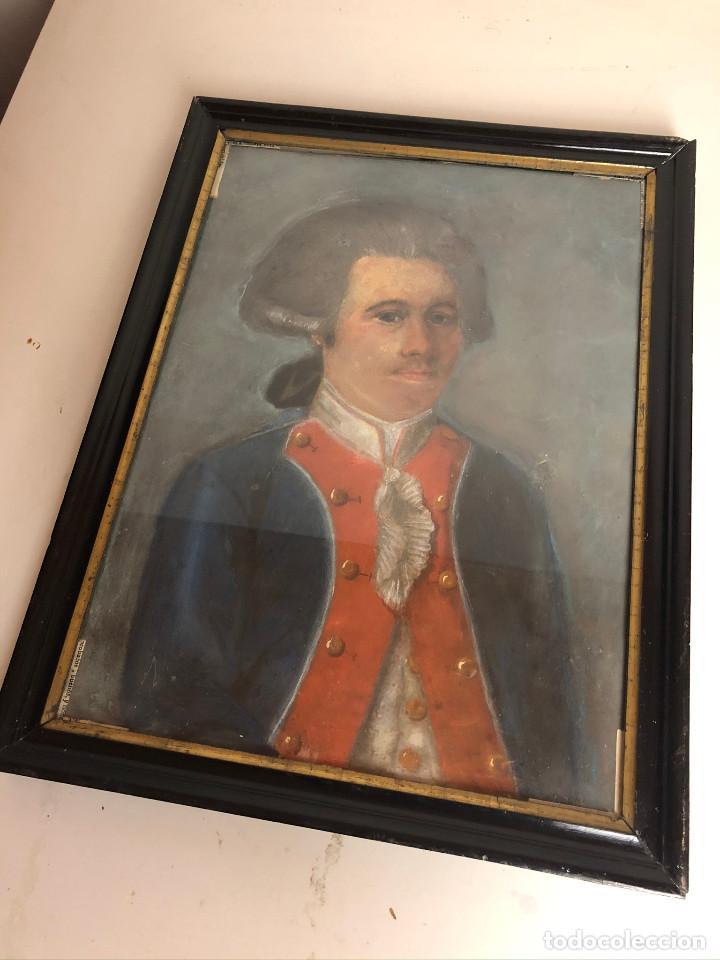 Arte: Retrato de soldado, Francia, finales siglo XVIII - Foto 4 - 220076885
