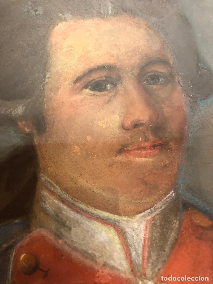 Arte: Retrato de soldado, Francia, finales siglo XVIII - Foto 5 - 220076885