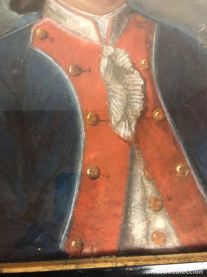 Arte: Retrato de soldado, Francia, finales siglo XVIII - Foto 6 - 220076885