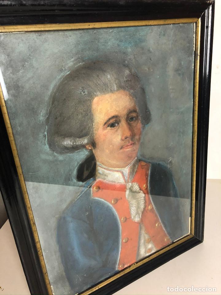 Arte: Retrato de soldado, Francia, finales siglo XVIII - Foto 9 - 220076885