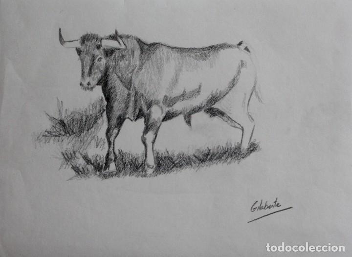 Arte: Toro obra de Gilaberte - Foto 2 - 221434372