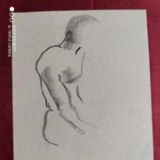Arte: DIBUJO ORIGINAL. CARBONCILLO . SIN FIRMAR. Lote 221623336