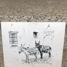 Arte: ALFREDO ENGUIS, BURRITOS, 1969. Lote 221633333