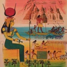 Arte: EL IMPERIO DE EGIPTO, DE PIERRE MONNERAT (SUIZA 1917- ESPAÑA 2005). Lote 221692240