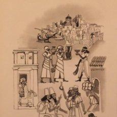 Arte: LOS FENICIOS: MARINOS Y COMERCIANTES, DE PIERRE MONNERAT (SUIZA 1917- ESPAÑA 2005). Lote 221699553