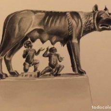 Arte: ROMA: RÓMULO Y REMO, DE PIERRE MONNERAT (SUIZA 1917- ESPAÑA 2005). Lote 221701462