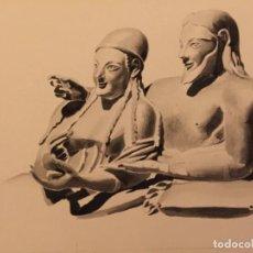 Arte: ARTE ETRUSCO, DE PIERRE MONNERAT (SUIZA 1917- ESPAÑA 2005). Lote 221703468