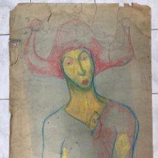 Arte: ARLEQUIN. 1ª MITAD S. XX.. Lote 221772302