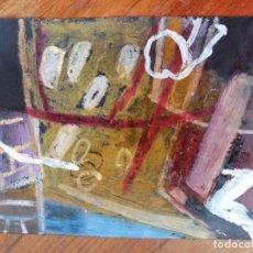 Arte: ANONIMO. TECNICA MIXTA SOBRE PAPEL. ABSTRACTO. Lote 221876000
