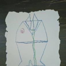 Arte: JAIME GIMÉNEZ DE HARO. DIBUJO ORIGINAL. 21X16 CM.. Lote 222054071