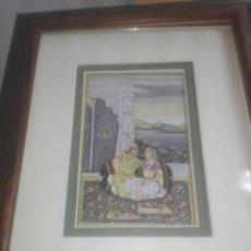 Arte: ANTIGUA ILUSTRACION S XIX PERTENECIENTE A LAS MIL Y UNA NOCHE POSIBLEMENTE. Lote 222699486