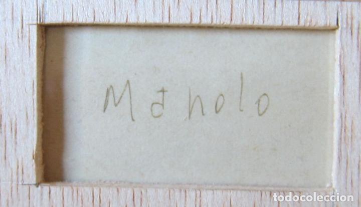 """Arte: MANOLO HUGUÉ (1872-1945). """"SOLEDAD"""", CIRCA 1930.Tinta. 22 x 16 cm - Foto 6 - 222728177"""