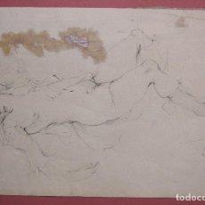Art: LEONOR FINI. DESNUDO FEMENINO. TINTA. 17,5 X 25 CM FIRMADO. Lote 223440750