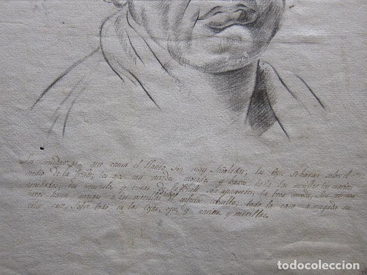 Arte: TRES DIBUJOS: El llanto. Colera. La veneración. LAPIZ Y TINTA. SIGLO XVIII - Foto 7 - 223512661