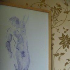 Arte: EMILIA CASTAÑEDA DESNUDO MASCULINO OPORTUNIDAD. Lote 223704188