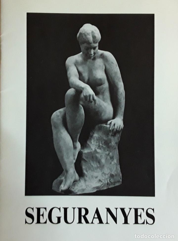 Arte: Joan Seguranyes(VIC) : Dibujo original de lápiz y clarión, torso de mujer posando. Enmarcado actual. - Foto 7 - 222696241