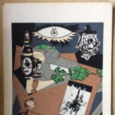 Arte: MANOLO MILLARES –SERIGRAFÍA BODEGÓN ESPAÑOL ,FIRMADA MILLARES 71. Lote 223929650