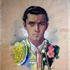 Arte: HERMANOS DOMINGUÍN, PEPE Y DOMINGO. TOREROS. TOROS 1943. Lote 224315293