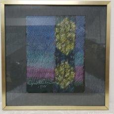 Arte: DIBUJO A PASTEL DE CYRIL FRADAN (JOHANNESBURGO 1928-1997). Lote 224318580