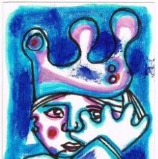 Arte: GAITEIRO TRISTEIRO / GAITERO TRISTE - DIBUJO ORIGINAL DE FELIPE - SENÉN ( GALICIA). Lote 224773441