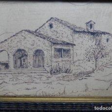 Arte: DIBUJO FIRMADO TON.MASIA DE TERRASSA O ALREDEDORES.. Lote 224799842