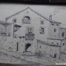 Arte: DIBUJO FIRMADO TON.MASIA DE TERRASSA O ALREDEDORES.. Lote 224800128