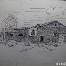 Arte: DIBUJO FIRMADO TON.MASIA DE TERRASSA O ALREDEDORES.. Lote 224800407