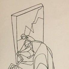 Arte: MATEMÁTICAS. CIRO S.ODUBER (PANAMÁ 1921- ESPAÑA 2002). MEDIDAS 42X16,5 CMS.. Lote 224918657