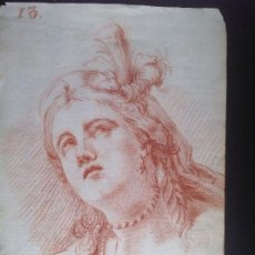 Arte: ANÓNIMO. SIGLO XVIII. RETRATO DE DAMA.. Lote 226216135