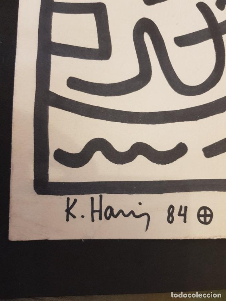 Arte: Keith Haring drawing on paper - Foto 3 - 227205139
