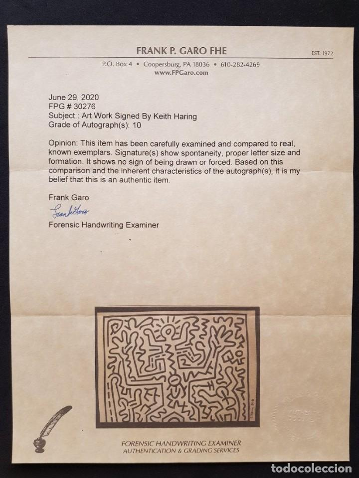Arte: Keith Haring drawing on paper - Foto 5 - 227205139