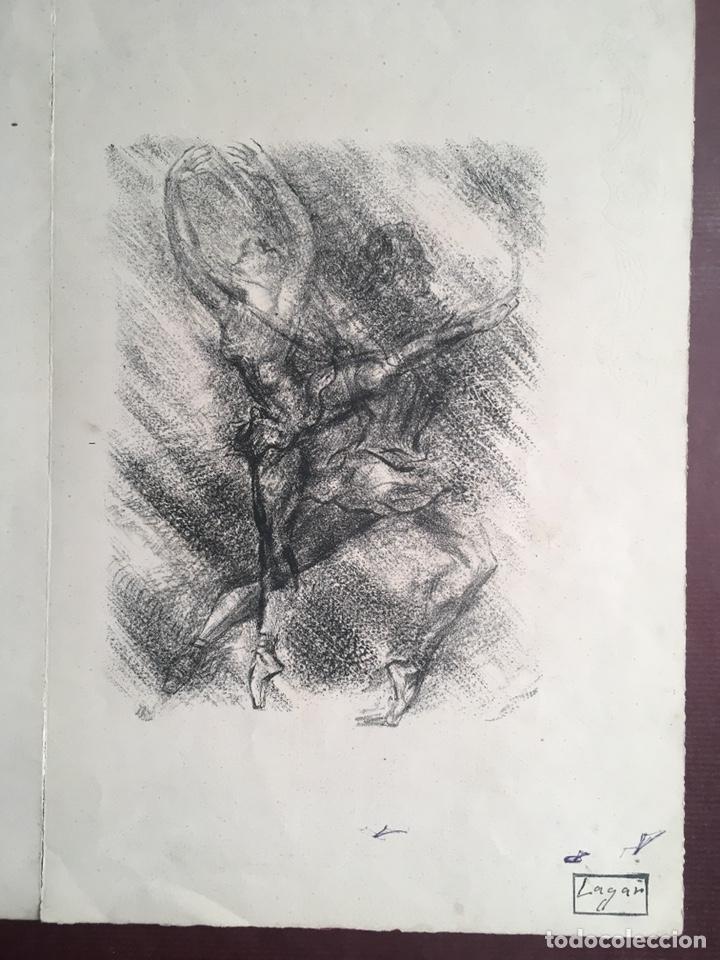 Arte: Dibujos de CELSO LAGAR (Ciudad Rodrigo, Salamanca 1891-Sevilla 1966) - Foto 19 - 228053605