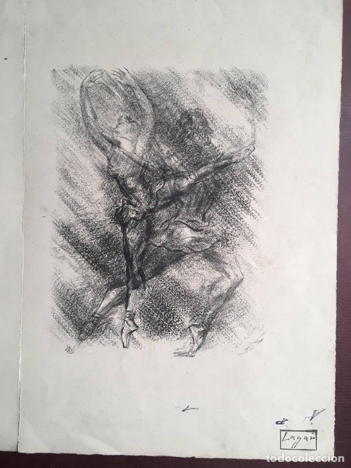 Arte: Dibujos de CELSO LAGAR (Ciudad Rodrigo, Salamanca 1891-Sevilla 1966) - Foto 20 - 228053605