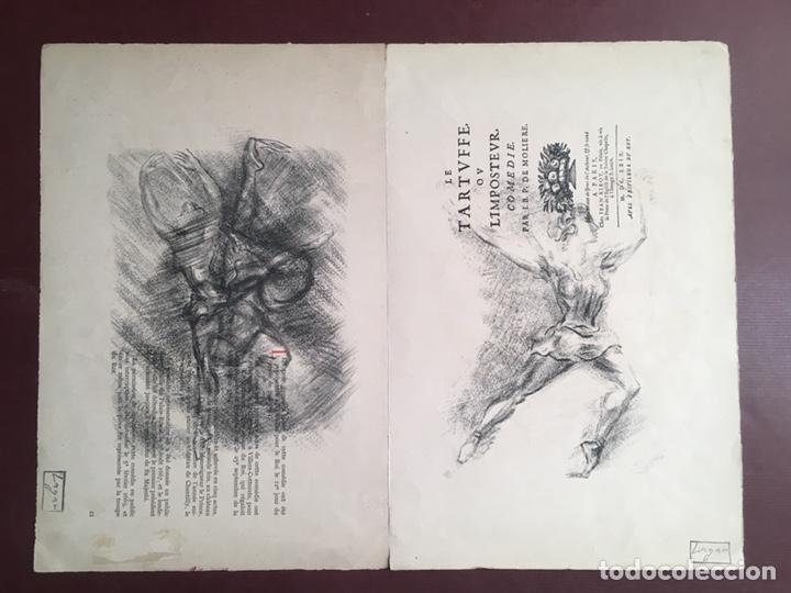 DIBUJOS DE CELSO LAGAR (CIUDAD RODRIGO, SALAMANCA 1891-SEVILLA 1966) (Arte - Dibujos - Contemporáneos siglo XX)