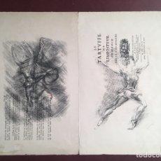 Arte: DIBUJOS DE CELSO LAGAR (CIUDAD RODRIGO, SALAMANCA 1891-SEVILLA 1966). Lote 228053605