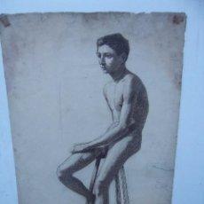 Arte: FANTASTICO DIBUJO DE DOMINGO ESTABLIE ( PINTOR DE BARCELONA 1904). Lote 228142625