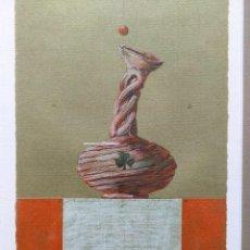 Arte: TÉCNICA MIXTA SOBRE PAPEL FIRMADO Y FECHADO EN 1999. Lote 228546820