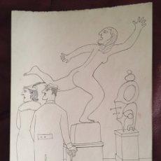 Arte: MARC ALEU SOCIES ( BCN 1922-CADAQÚES 1996),CRAM, REVISTA SANS PAROLES DE DAU AL SET 1954. Lote 228906765