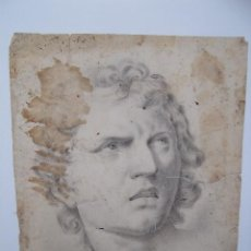 Arte: EXCELENTE DIBUJO FIRMADO CANO 1838. Lote 228970745