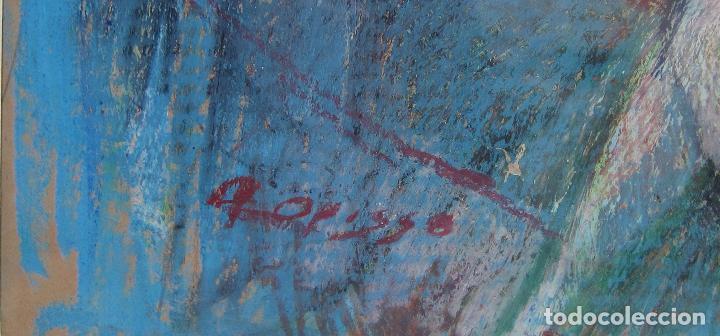 Arte: ALFREDO OPISSO. ESCENA DE CIRCO. CERAS. 63 x 48,5 cm. FIRMADO - Foto 5 - 229535195