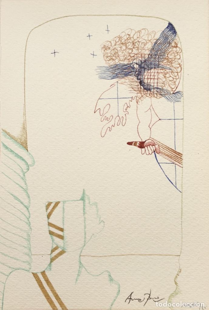 ARRANZ BRAVO Y RAFAEL BARTOLOZZI (Arte - Dibujos - Contemporáneos siglo XX)
