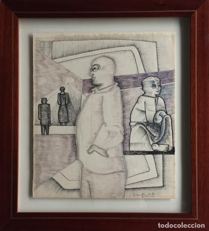 JOAN BROTAT (Arte - Dibujos - Contemporáneos siglo XX)