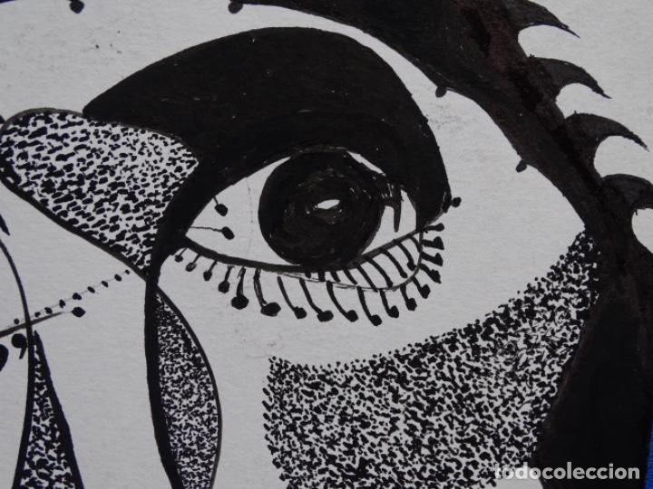 Arte: DIBUJO A TINTA DEL POLIFACÉTICO POETA CERAMISTA Y DIBUJANTE LLUÍS FERRER I BADENAS FALLECIDO EN 2010 - Foto 7 - 231718800