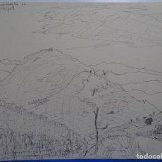 Arte: DIBUJO DE RABAT JUNCADELLA.1962.EL CATLLAR, RIPOLL.. Lote 231924270