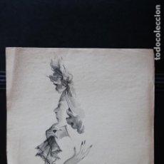 Arte: DIBUJO ORIGINAL A TINTA Y ACUARELA - PARA PUBLICIDAD - MONTSERRAT BARTA PRATS (1906 - 1988 ). Lote 232274910