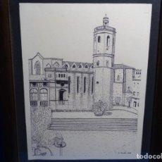 Arte: DIBUJO FIRMADO J. MARTI 1988.. Lote 233915185