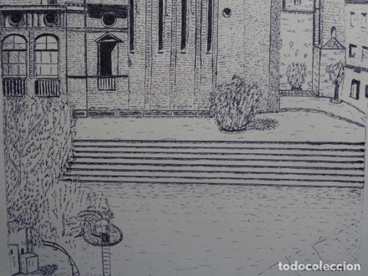 Arte: DIBUJO FIRMADO J. MARTI 1988. - Foto 4 - 233915185