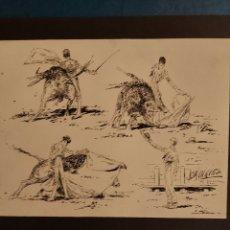Arte: BOCETOS DE TAUROMAQUIA. Lote 234357480