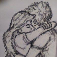 Arte: ABRAZO (ORIGINAL). Lote 234509680