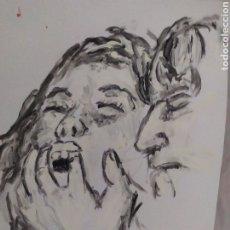 Arte: TENTACIÓN (ORIGINAL). Lote 234513660